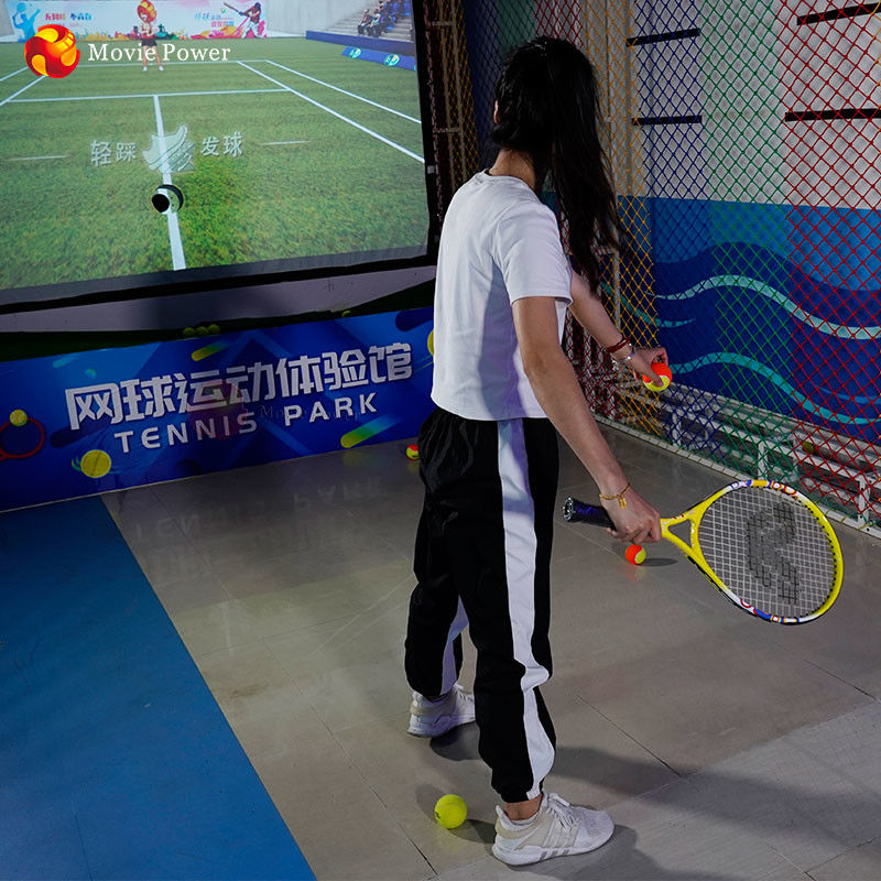 Interactive Physical Fitness Game 9d Virtual Reality Tennis Equipment Vr Sport Game